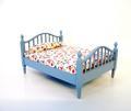 Bed blauw