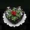 Kerst taart hart