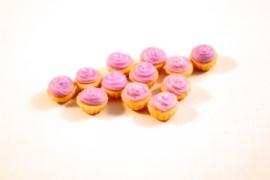 Cupcake creme paars