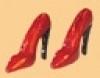 Schoenen rood