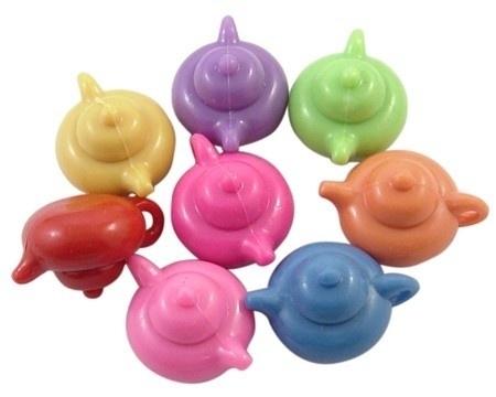 Thee potten plastic