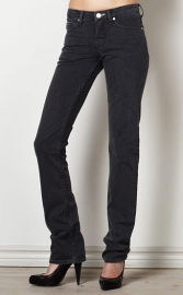 Acne Jeans  Hep black stretch