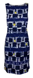 Maliparmi blauwe jurk