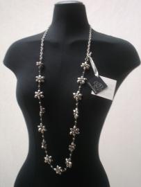 Ketting- riem silver  Roses of Antwerp   Boutiquewaarde €120-40%