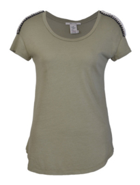 Blue Denim Lodge t-shirt olive