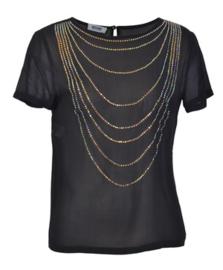 Moschino zwarte blouse