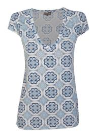 Maliparmi t-shirt Mediterranean Tile