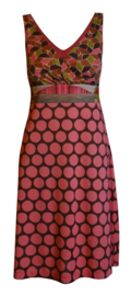 Maliparmi mouwloos jurk roze