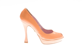 Oranje pump Noiselle