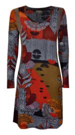 Surkana gebreide jurk