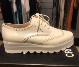 Crinkeles sneaker wit