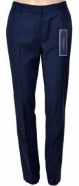 Donkerblauwe geklede broek dames Tommy Hilfiger