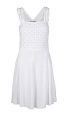 Kathleen Madden witte jurk
