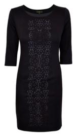 Surkana zwarte jurk