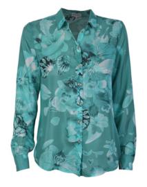 Who*s Who zijde blouse met print