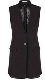 Zwarte vest Supertrash