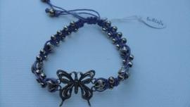 Armband  lila Butterfly    Barong Barong