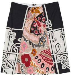 Maliparmi rok met print Graphic&Butterfly