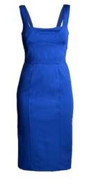 Paola Frani jurk in koningsblauw