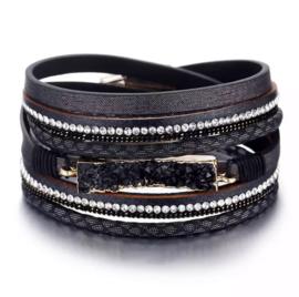 Bohemian Lederen Armband