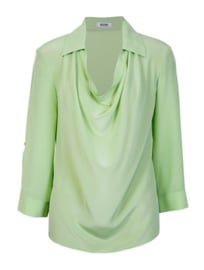 Moschino cheap and chic zijden blouse Pistache