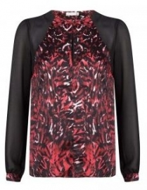 Blouse met print Supertrash