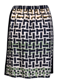 Maliparmi rok met gevlochten patroon
