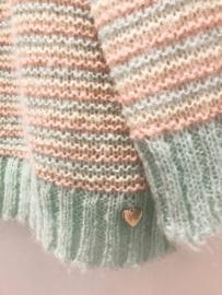 AMELIE & AMELIE mintgroen sweater
