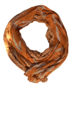 Surkana sjaal met etnische print