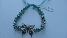 Armband turquoise  Butterfly Barong Barong