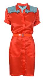 Who*s Who oranje jurk