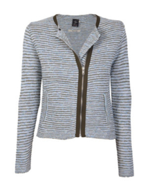 Blue Denim Lodge cardigan Agua