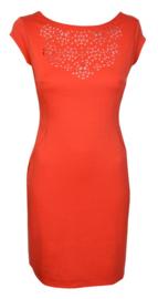 Surkana oranje jurk