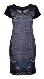 Batida print jurk