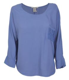 Blue Denim Lodge blouse Pilgrim