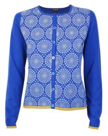 Maliparmi blauw vest met cirkels