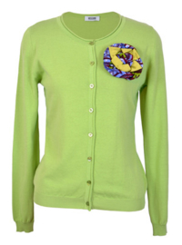 Moschino cheap and chic groen vest