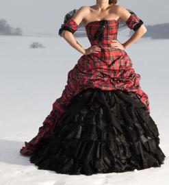 Bruidsjurk Schotse stijl SC14