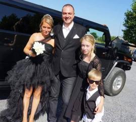 Huwelijk Angelique en Kenny