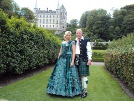 Huwelijksreis Ad en Monique in Schotland