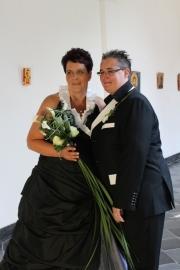 Huwelijk Petra en Mireille