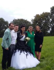 Huwelijk Nicky en haar man