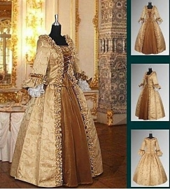 Baroque jurk 304