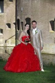 Huwelijk Jennifer en haar man