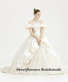 Bruidsjurk Victoriaans OW42