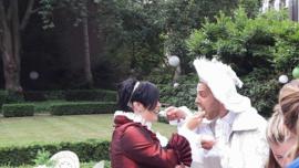 Victoriaans Huwelijk Daisy en Roland