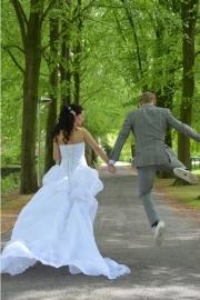 Huwelijk Nicole en haar man