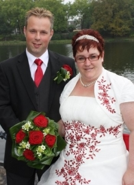 Huwelijk Paola en Johann