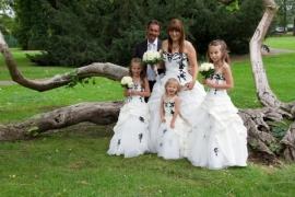 Angelique haar man en de kids