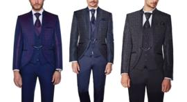 Prachtig 5 delig kostuum 0192 in 3 kleuren verkrijgbaar